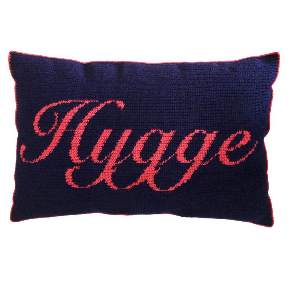 Crocheted Hygge Cushion