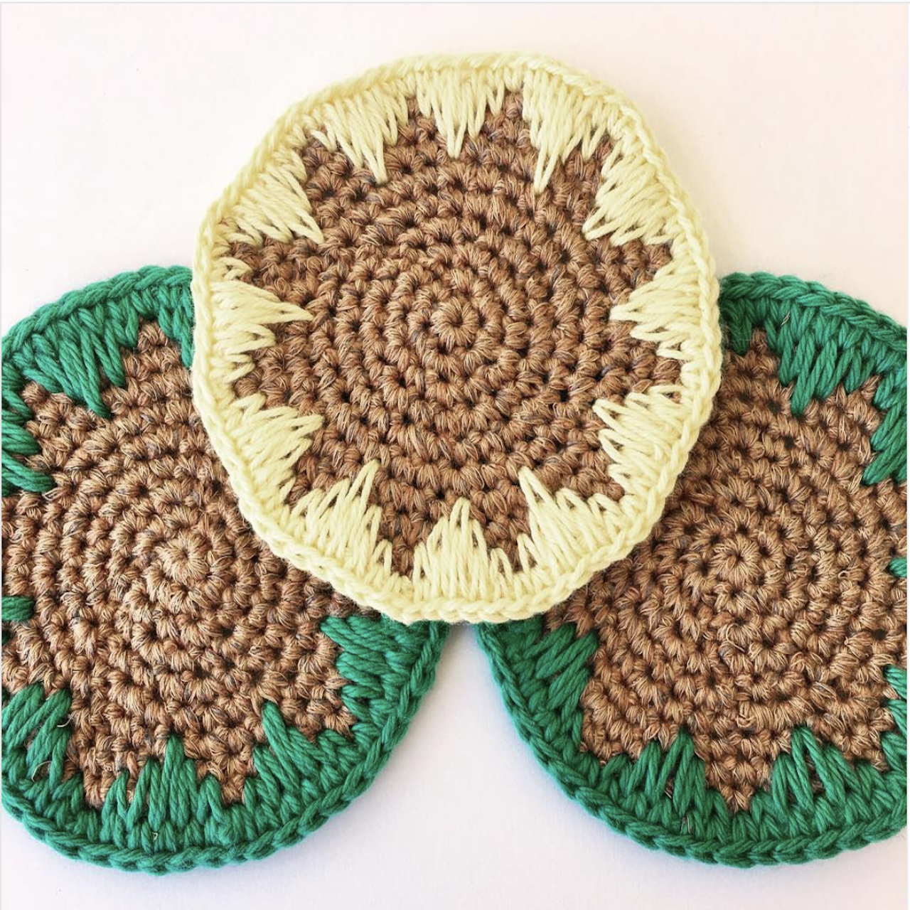 Crocheted Coaster Pattern