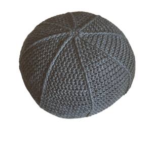 crocheted bolster cushion