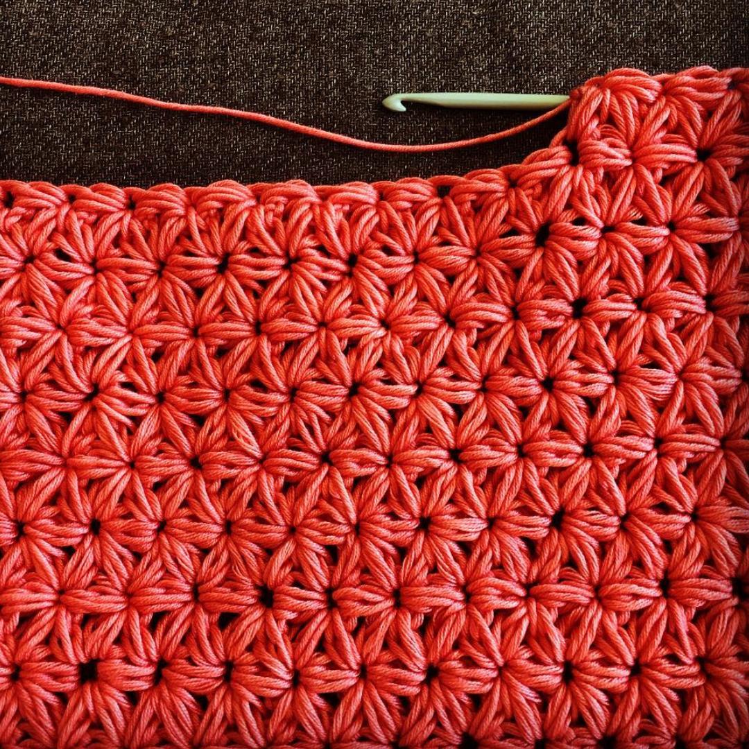 Crocheted Gym Bag