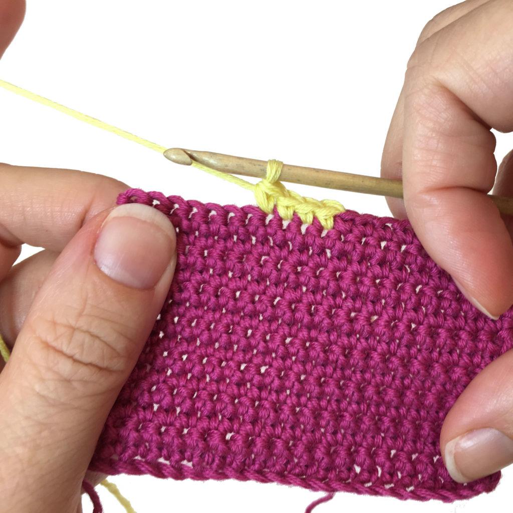 colour change crochet