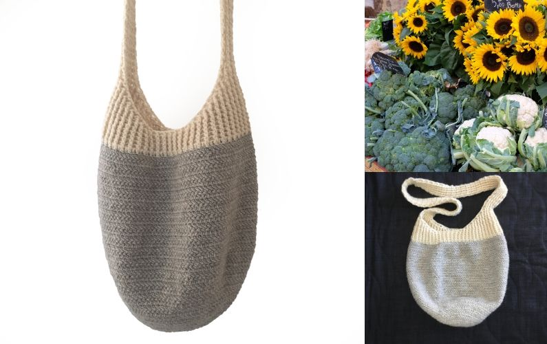 crocheted Market Tote