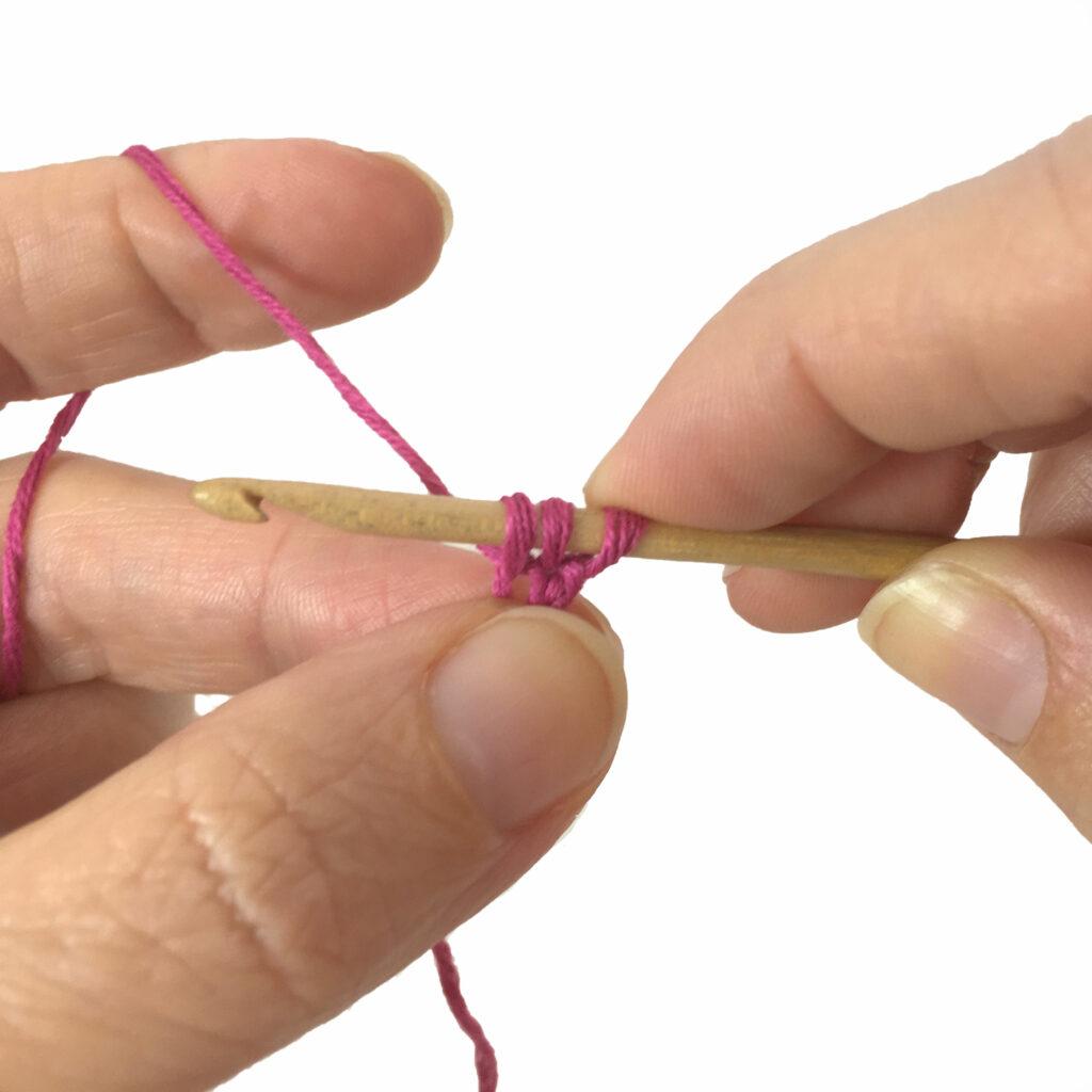 Foundation Chain Halfdouble Crochet