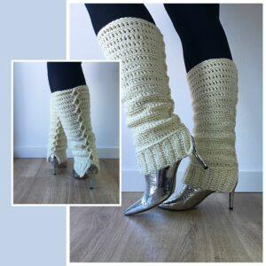 Crocheted Chunky Legwarmers