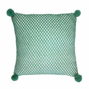 Crocheted Diamonds Cushion
