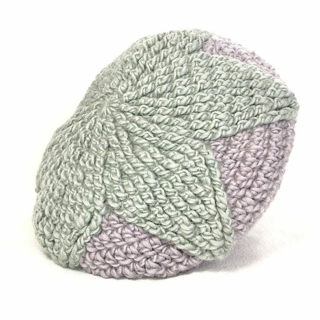 crochet topstar hat
